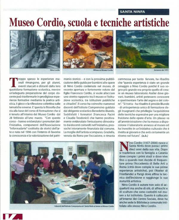 corso insegnanti per Museo Cordio Santa Ninfa (TP) 2008 (2)